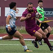 20180414 Rugby, eccellenza : Fiamme Oro v Lazio
