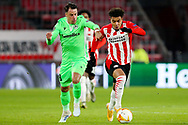 Vitor Gomes of Omonia Nicosia, Donyell Malen of PSV Eindhoven during the UEFA Europa League, Group E football match between PSV and Omonia Nicosia on December 10, 2020 at Philips Stadion in Eindhoven, Netherlands - Photo Perry vd Leuvert / Orange Pictures / ProSportsImages / DPPI