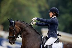 Bramall Leonie, KAN, Fleur De Vie<br /> WK Young Horses Verden 2021<br /> © Hippo Foto - Dirk Caremans<br /> 25/08/2021