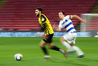 Football - 2020 / 2021 Sky Bet Championship - Watford vs Queens Park Rangers - Vicarage Road<br /> <br /> Marc Navarro of Watford.<br /> <br /> COLORSPORT/ASHLEY WESTERN