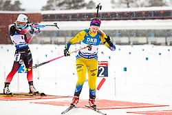 March 10, 2019 - –Stersund, Sweden - 190310 Mona Brorsson of Sweden looks dejected during the Women's 10 km Pursuit during the IBU World Championships Biathlon on March 10, 2019 in Östersund. 10, 2019 in Östersund..Photo: Johan Axelsson / BILDBYRÃ…N / Cop 245 (Credit Image: © Johan Axelsson/Bildbyran via ZUMA Press)