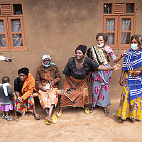Members of the local health committee in Vighole near Butembo, North Kivu, DRC.
