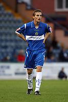 James Vincent. Stockport County FC 1-0 Port Vale FC. Johnstones Paint Trophy. Edgeley Park. 2.9.08