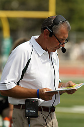 28 September 2013:  Norm Eash during an NCAA division 3 football game between the Hope College Flying Dutchmen and the Illinois Wesleyan Titans in Tucci Stadium on Wilder Field, Bloomington IL