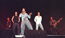 Fixate, who are Christian fry, Justin Osuji, Paul Middleton, Jamie Callis and John Miles-Guitar- (son of the John Miles) Playing at Sheffield arena as support for Ronan Keating in May 2001. This was just one of a number of recent Sheffield Arena dates supporting major acts.