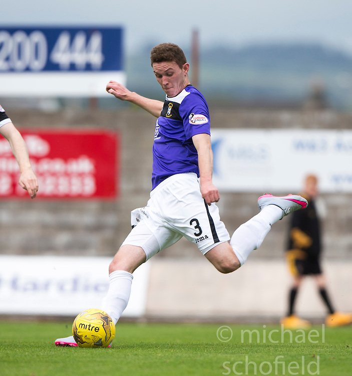 East Fife's Pat Slattery.  <br /> East Fife 2 v 1 Elgin City, Ladbrokes Scottish Football League Division Two game played 22/8/2015 at East Fife's home ground, Bayview Stadium.