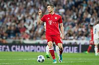 Robert Lewandowski Robert Lewandowski during the match of Champions League between Real Madrid and FC Bayern Munchen at Santiago Bernabeu Stadium  in Madrid, Spain. April 18, 2017. (ALTERPHOTOS)