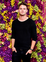 Jeremy Irvine attending the Crazy Rich Asians Premiere held at Ham Yard Hotel, London.