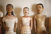 Turmalina_MG, Brasil.<br /> <br /> Mestre artesa, ceramista, ela fabrica as famosas bonecas de jequitinhonha em Turmalina, Minas Gerais.<br /> <br /> A craftwoman, ceramist, She produces famous dolls from Jequitinhonha in Turmalina, Minas Gerais.<br /> <br /> Foto: LEO DRUMOND / NITRO