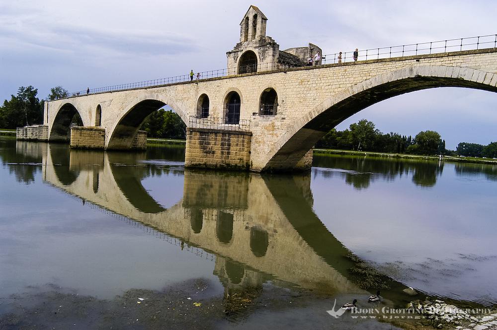 Pont d'Avignon is a famous medieval bridge in Avignon, France.