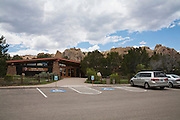 El Morro National Monument Visitor Center in New Mexico