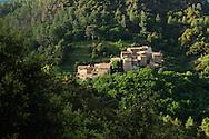 France, Languedoc Roussillon, Gard (30), Cevennes, vallée du Galeizon, hameau de Brugairolle