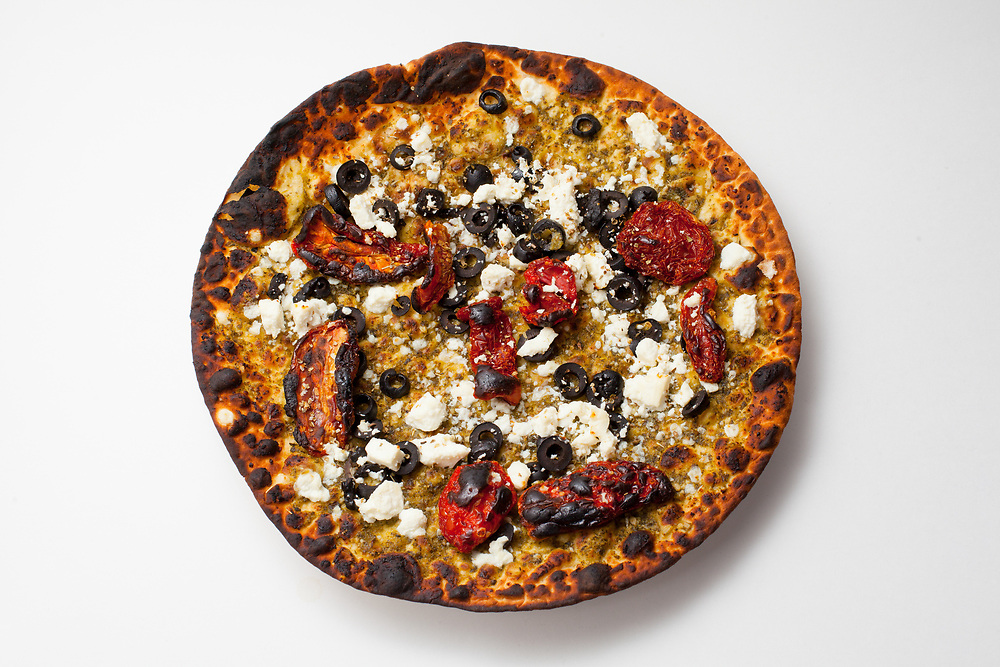 Sundried Tomato, Feta, and Black Olive Manakeesh from Liberty Choice ($6.47)
