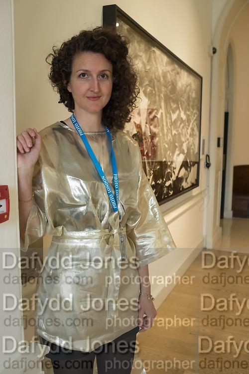 NADINE FARAJ, DURAN MASHAAL GALLERY, Opening of Photo London, 2018. Somerset House. London. nadine faraj16 May 2018