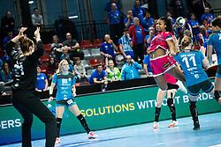 Foppa Pauletta of Brest Bretagne during handball match between RK Krim Mercator and Brest Bretagne Handball in 2nd main round of Women's DELO EHF Champions League 2019/20, on February 2, 2020 in Kodeljevo, Ljubljana,  Slovenia. Photo Grega Valancic / Sportida