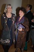 LADY ANNE LAMBTON; LADY ASHCOMBE, Calder After The War. Pace London. Burlington Gdns. London. 18 April 2013.