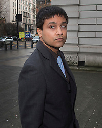 © Licensed to London News Pictures. 04/02/2016. London, UK. Navinder Singh Sarao arrives at Westminster Magistrates court. Sarao is a stock market trader who is accused of contributing to the 2010 flash crash. He has been charged with 22 counts of fraud and market manipulation by the US authorities who want to extradite him. Photo credit: Peter Macdiarmid/LNP