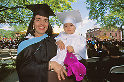 Ana Gomez & Ana Lua, Tufts University 1997 Graduation