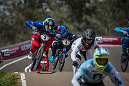 #3 (ANDRE Sylvain) FRA at Round 10 of the 2019 UCI BMX Supercross World Cup in Santiago del Estero, Argentina