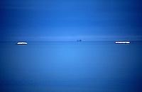 Båt, seilbåt, blått, himmel og hav, boat, blue, sea and sky