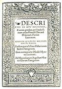 Heinrich Glarean (also Glareanus) (June 1488–March 28, 1563) was a Swiss music theorist, poet and humanist. He was born in Mollis (in the canton of Glarus, hence his name) and died in Freiburg .  Title page of 'Helvetiae descriptio et in laudatissimum Helvetiorum foedus Panegyricus'  1519