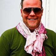 NLD/Amsterdam/20100716 - Inloop modeshow Monique de Collignon bij de AIF, Bastiaan van Schaik