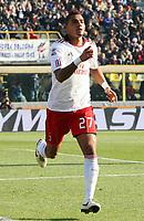Fotball<br /> Italia<br /> Foto: Insidefoto/Digitalsport<br /> NORWAY ONLY<br /> <br /> kevin prince boateng milan celebrated after scoring goal<br /> <br /> 12.12.2010<br /> Bologna v Milan