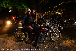 The Broken Spoke Saloon on the last night of Daytona Bike Week. Ormond Beach, FL. USA. Saturday March 17, 2018. Photography ©2018 Michael Lichter.