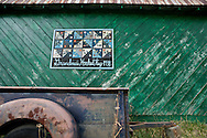 The Appalachian Quilt Trail started in Ohio and has spread through Kentucky, Tennessee and Western North Carolina. Family's will often choose the block they wish to represent their family heritage. This quilt pattern was found on the side of barn on a county road just outside of Boone, North Carolina.