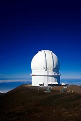 Canada-France-Hawaii Telescope (CFHT), Mauna Kea Observatories, Big Island, Hawaii