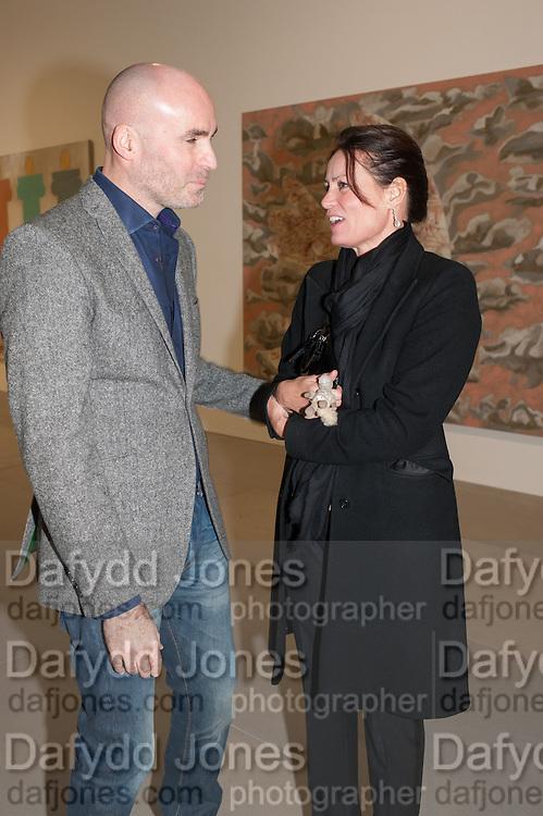 JASON BROOKS; TRISH SIMONON, Mandala for Crusoe, Exhibition of work by Francesco Clemente. Blain/Southern. Hanover Sq. London. 29 November 2012