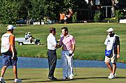 Justin Leonard and Trevor Immelman at Stanford St. Jude in Memphis.