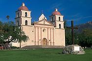 Historic Mission Santa Barbara (est. 1786), Mission Park, Santa Barbara, California