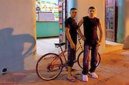 Two guys in Bayamo, Granma, Cuba.