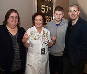 03/11/2016 Repro fee: Rita Gilligan's book The Rock 'n' Roll Waitress from The Hard Rock Cafe My Life in Hotel Meyrick, Galway was launched my Cllr. Noel Larkin Mayor of Galway. With the Author Rita Gilligan  were Sheila Grealish, author Rita Gilligan Adam and Bernard Cameron, Bohermore,     Photo :Andrew Downes, XPOSURE