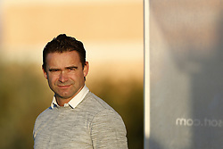 Marc Overmars of Ajax during a training session of Ajax Amsterdam at the Cascada Resort on January 08, 2018 in Lagos, Portugal