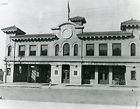 1914 Hollywood Police Station on the west side of Cahuenga Ave, just south of Hollywood Blvd.