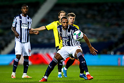Matt Phillips of West Bromwich Albion takes on Lloyd Kerry of Harrogate Town - Mandatory by-line: Robbie Stephenson/JMP - 16/09/2020 - FOOTBALL - The Hawthorns - West Bromwich, England - West Bromwich Albion v Harrogate Town - Carabao Cup