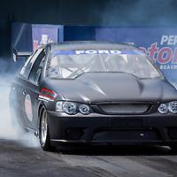 Errol Quartermaine's (689) turbocharged Ford Falcon.
