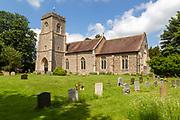 Village parish church of Saint Mary the Virgin, Brettenham, Suffolk, England, UK