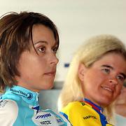 NLD/Oosterbeek/20060321 - Presentatie nieuwe dames wielerploeg Buitenpoort - Flexpoint Team, Mirjam Melchers - van Poppel