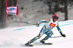 18/12/2010 ALPINE SKI WORLD CUP VAL GARDENA 2010 FIS SKI WELT CUP - Downhill. .SPORN Andrej of Slovenia.© Photo Pierre Teyssot / Sportida.com.