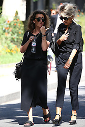 Mademoiselle Agnes attending the funeral ceremony of French designer Sonia Rykiel at the Montparnasse cemetery in Paris, France on September 1, 2016. The 86 years old pioneer of Parisian womenswear from the late 1960's onwards, has died from a Parkinson's disease-related illness. Photo by ABACAPRESS.COM