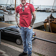 NLD/Volendam/20140626 - 100%NL magazine bestaat 5 jaar, Ben Saunders