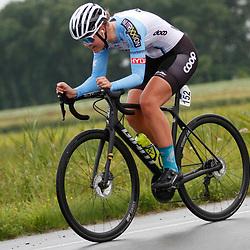 KNOKKE HEIST (BEL) July 10 CYCLING: <br /> 3th Stage Baloise Belgium tour Time Trial: <br /> Pernille Larssen Feldman