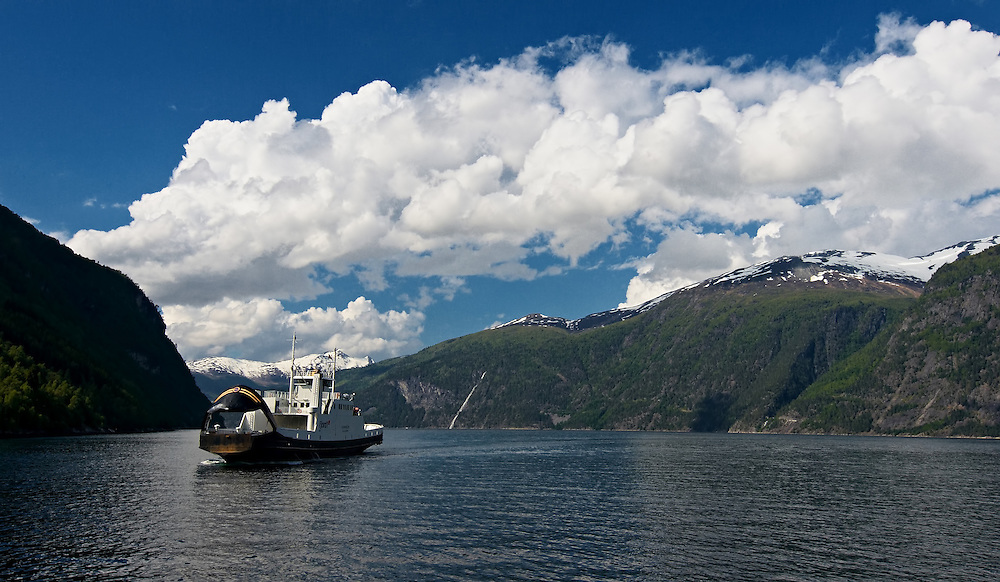 Norway - Geirangerfjord ferry