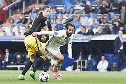 May 2, 2017 - Madrid, Spain - Isco (midfielder; Real Madrid) watched the Champions League, semifinal match between Real Madrid and Atletico de Madrid at Santiago Bernabeu Stadium on May 2, 2017 in Madrid, Spain (Credit Image: © Jack Abuin via ZUMA Wire)