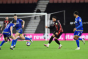 Arnaut Danjuma (10) of AFC Bournemouth on the attack during the EFL Sky Bet Championship match between Bournemouth and Nottingham Forest at the Vitality Stadium, Bournemouth, England on 24 November 2020.
