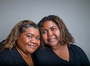 Mother and Daughter, Vivian Hedrington, (left), and Rita Brown, Tucson, Arizona, USA.