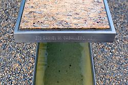 ET3 Daniel M. Caballero, USN Bench, Pentagon 911 Memorial